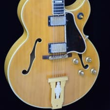 Gibson 1961 vintage L-5 cesn electric arch top jazz guitar image