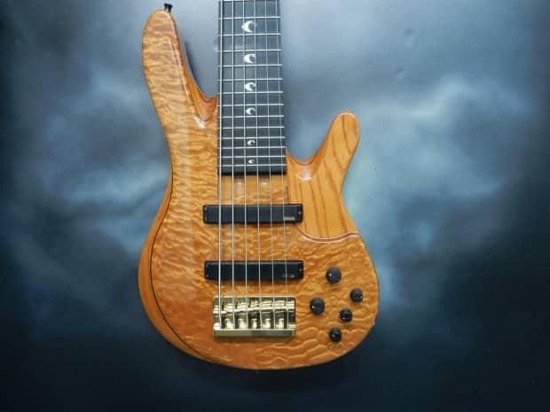 Yamaha trb jp2 6 string bass reverb for Yamaha 6 string bass