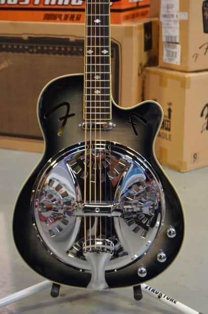 fender roosevelt resonator ce electric resonator guitar reverb. Black Bedroom Furniture Sets. Home Design Ideas