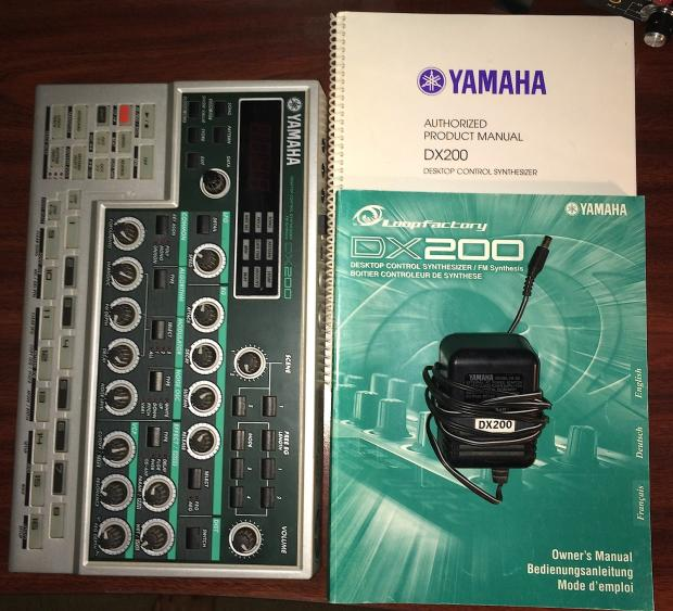 Yamaha dx 200 fm synth with orig manuals orig owner for Yamaha mx61 specs