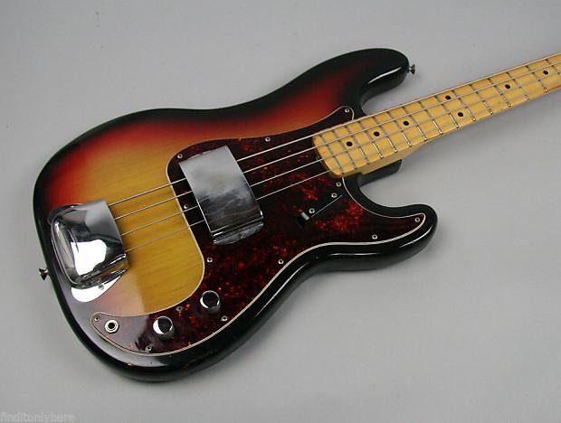 1971 vintage fender precision bass guitar sunburst beauty usa reverb. Black Bedroom Furniture Sets. Home Design Ideas