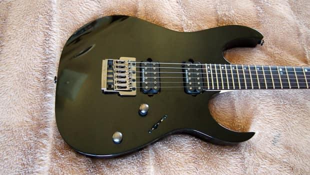 ibanez rg921 black premium fixed bridge electric guitar rg reverb. Black Bedroom Furniture Sets. Home Design Ideas