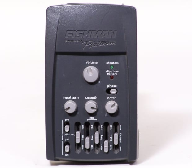 fishman pro eq platinum bass equalizer di preamp free reverb. Black Bedroom Furniture Sets. Home Design Ideas