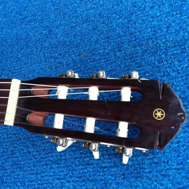 Yamaha g 55a classical guitar vintage taiwan full size for Yamaha fg700s dimensions