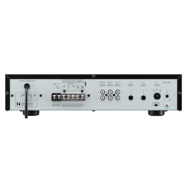 toa a 224 integrated 5 input 240 watt mixer amplifier reverb. Black Bedroom Furniture Sets. Home Design Ideas