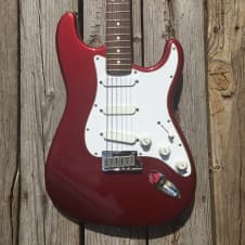 Fender Strat Plus Stratocaster 1987 E4 Candy Apple image