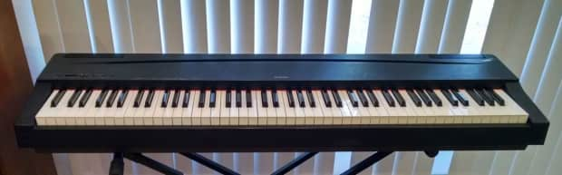Yamaha p 70 digital pianos w weighted 88 keys reverb for Yamaha p series p35b