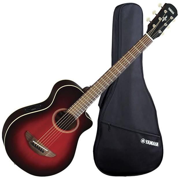 Yamaha Apxt2 3 4 Thinline Acoustic Electric Guitar Dark