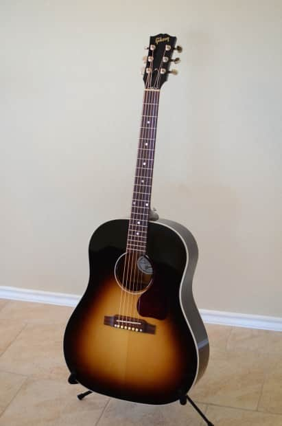 gibson j 45 acoustic electric guitar upgrades bone nut sad reverb. Black Bedroom Furniture Sets. Home Design Ideas