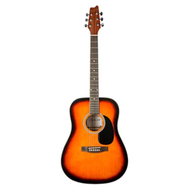 denver dreadnaught acoustic guitar sunburst reverb. Black Bedroom Furniture Sets. Home Design Ideas
