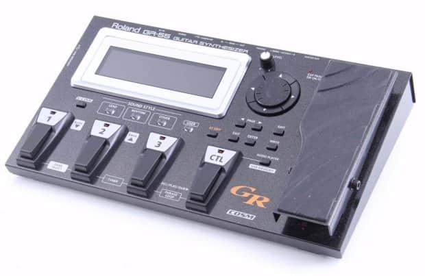 roland gr 55 guitar synthesizer multi effects pedal reverb. Black Bedroom Furniture Sets. Home Design Ideas