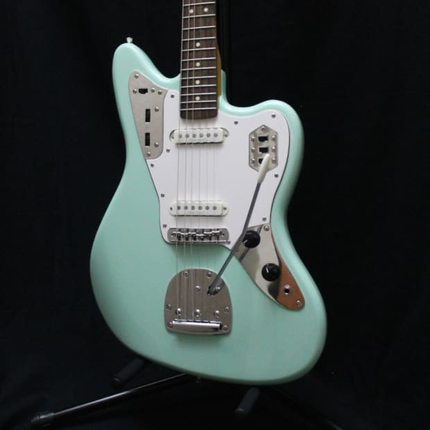 used squier vintage modified jaguar surf green reverb. Cars Review. Best American Auto & Cars Review