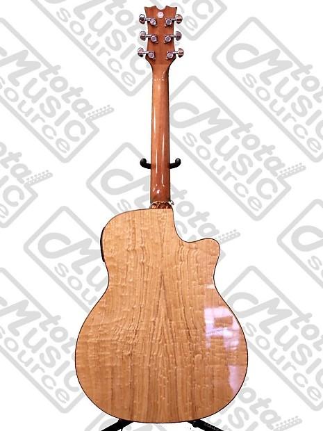 Dean Exotica Left Hand Acoustic Electric Guitar Quilt Ash