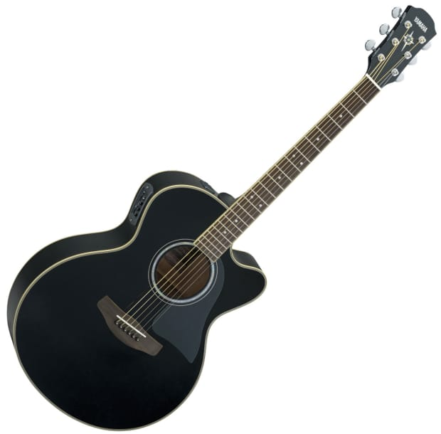 yamaha cpx500iii acoustic electric guitar black reverb. Black Bedroom Furniture Sets. Home Design Ideas