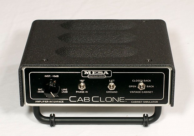 Mesa/Boogie Cab Clone Cabinet Simulator 8 OHMS Version