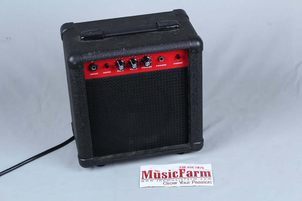 excel exl10 10 watt amp electric guitar amplifier with 6 reverb. Black Bedroom Furniture Sets. Home Design Ideas