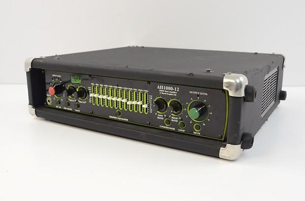 trace elliot ah1000 12 1000 watt bass amplifier head reverb. Black Bedroom Furniture Sets. Home Design Ideas