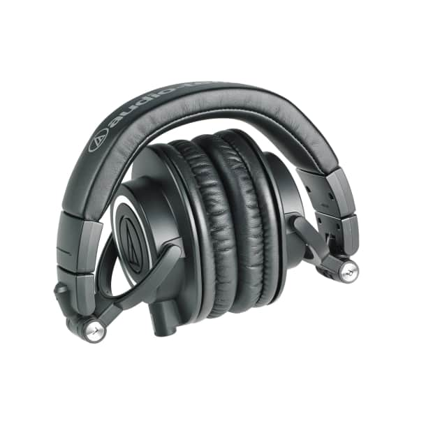 audio technica ath m50x professional monitor headphones. Black Bedroom Furniture Sets. Home Design Ideas