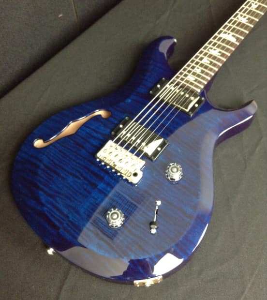 prs paul reed smith s2 custom 22 semi hollow 2016 whale blue reverb. Black Bedroom Furniture Sets. Home Design Ideas