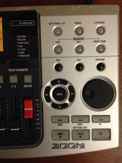 digital multitrack recorder with drum machine