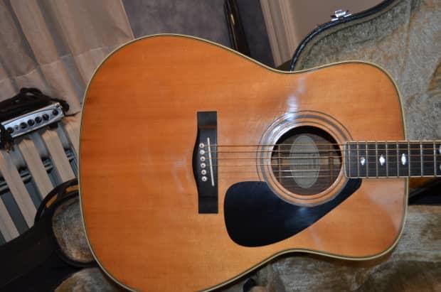 1984 yamaha fg375s acoustic guitar reverb for Yamaha fg830 specs