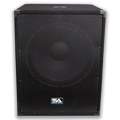 new pair 18 subwoofers pa dj 1000 watt rms speaker sub. Black Bedroom Furniture Sets. Home Design Ideas