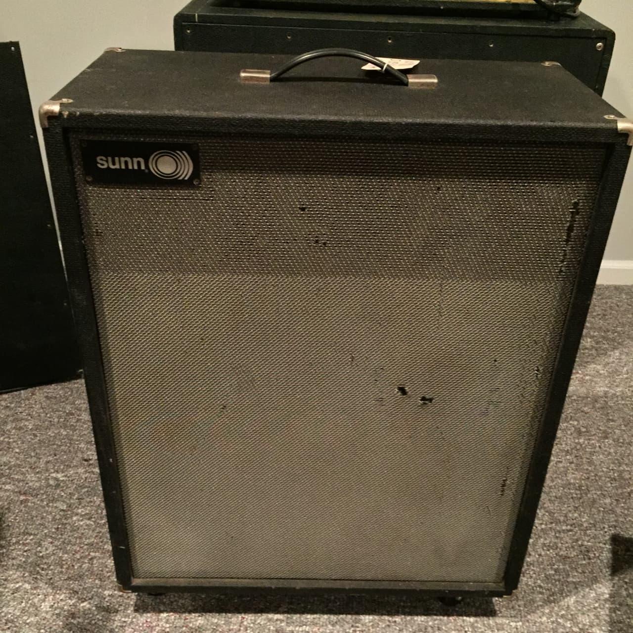 1x15 Guitar Cabinet 1968 Sunn 1x15 Guitar Cabinet With Rare Jbl D 15 S Guitar Reverb