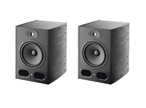 focal alpha 65 active monitors pair jbl lsr308 yamaha