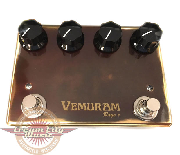 brand new vemuram pedals rage e overdrive guitar pedal reverb. Black Bedroom Furniture Sets. Home Design Ideas