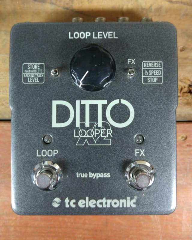 Tc electronic ditto x2 looper audiofanzine for Yamaha cp50 review