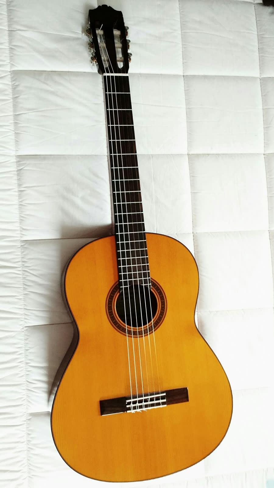 yamaha cg101a classical guitar reverb. Black Bedroom Furniture Sets. Home Design Ideas