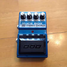 DOD FX64 Ice Box Stereo Chorus Blue Good Condition image