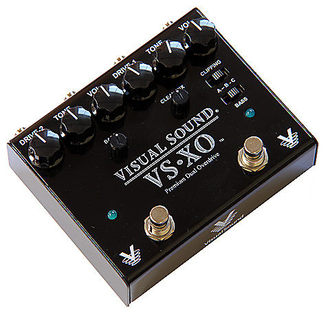 visual sound vs xo dual overdrive pedal reverb. Black Bedroom Furniture Sets. Home Design Ideas
