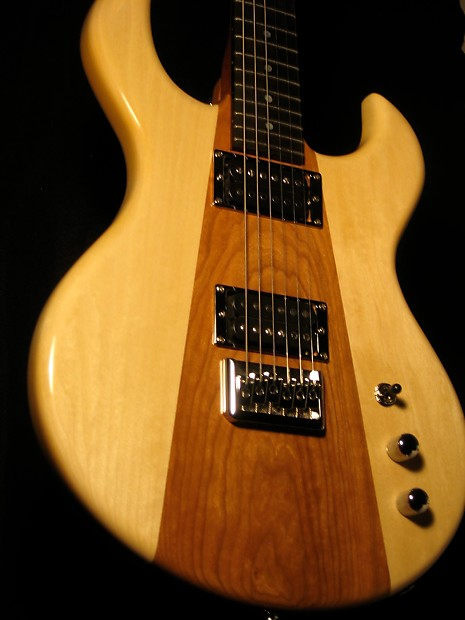boutique custom shop hand made electric guitar by rousseau reverb. Black Bedroom Furniture Sets. Home Design Ideas