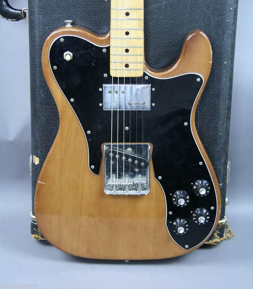 1974 vintage fender telecaster custom mocha guitar ohsc tele reverb. Black Bedroom Furniture Sets. Home Design Ideas