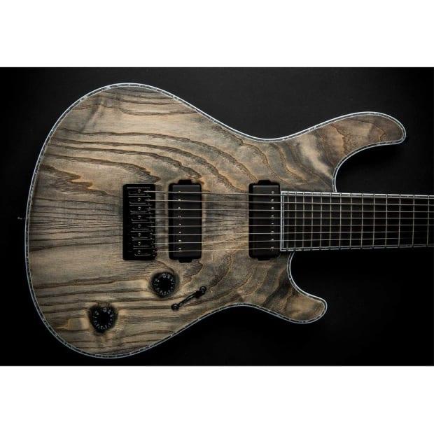 mayones regius 8 8 string baritone scale electric guitar in reverb. Black Bedroom Furniture Sets. Home Design Ideas