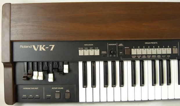 Roland Vk 7 61 Key Digital Combo Organ Keyboard One Owner