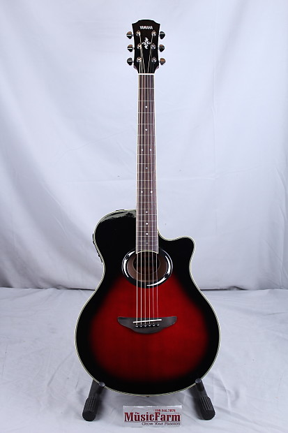 yamaha apx 500 thinline acoustic electric guitar dusk sun. Black Bedroom Furniture Sets. Home Design Ideas