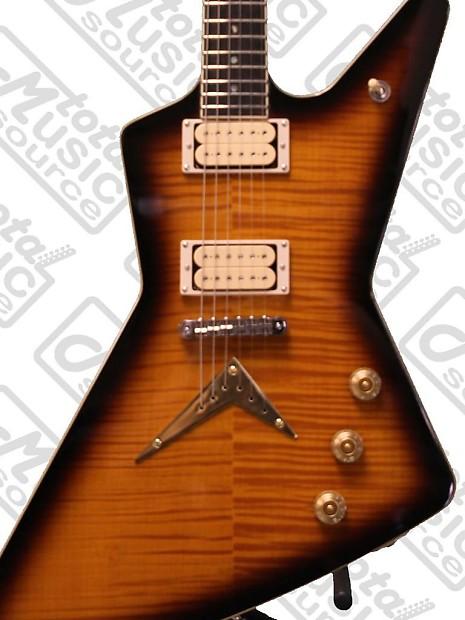 dean guitars chicago flame z electric guitar dimarzio reverb. Black Bedroom Furniture Sets. Home Design Ideas