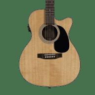 <p>Sigma SF28CE Folk Electric-Acoustic Cutaway Guitar</p>  for sale