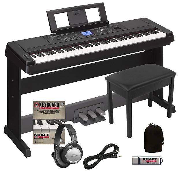 E Piano Yamaha Portable Grand Dgx