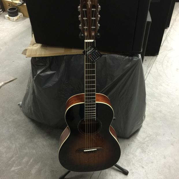 alvarez ap66sb mahogany parlor guitar reverb. Black Bedroom Furniture Sets. Home Design Ideas