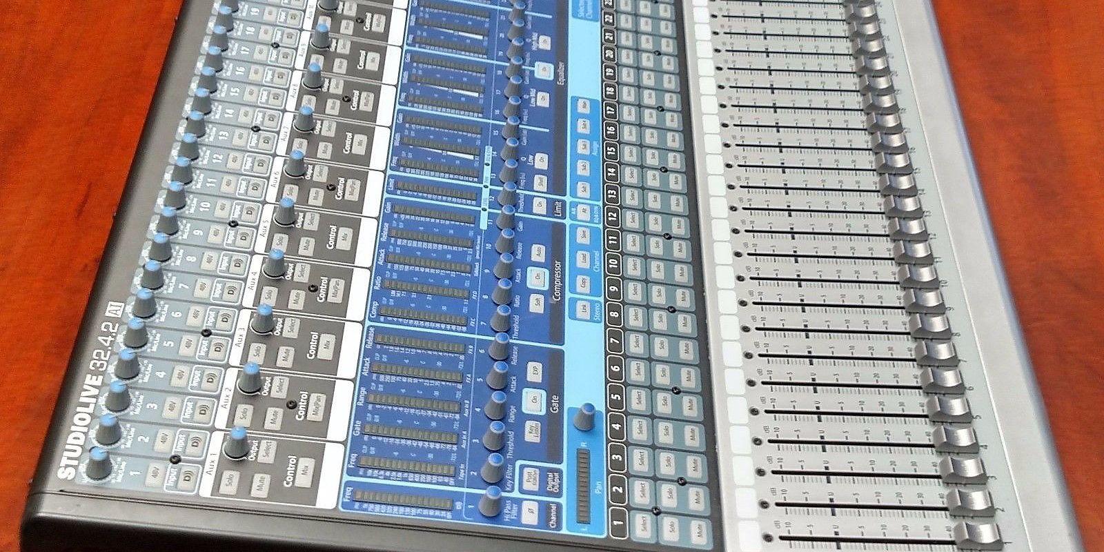 Presonus 32 Channel Digital Mixer PreSonus StudioLive 32.4.2 AI 32-Channel Digital Mixer ...