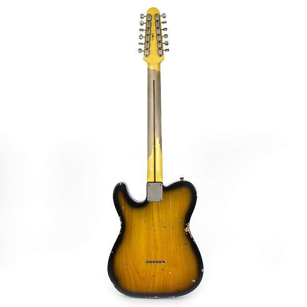 used nash t 12 12 string solid body electric guitar in two reverb. Black Bedroom Furniture Sets. Home Design Ideas
