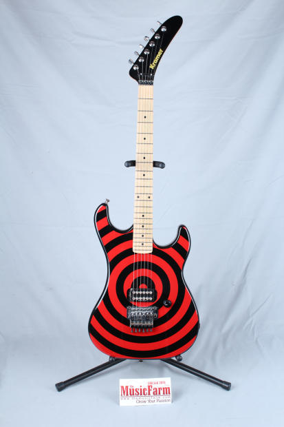USED Kramer 84 Baretta Electric Guitar USA with red/black ...