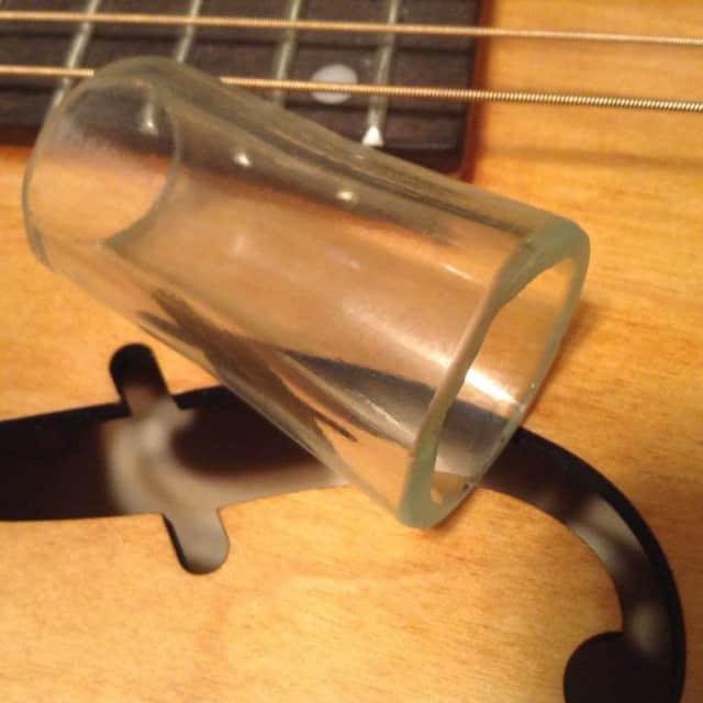 Glass Bottle Neck Slide (Clear) image