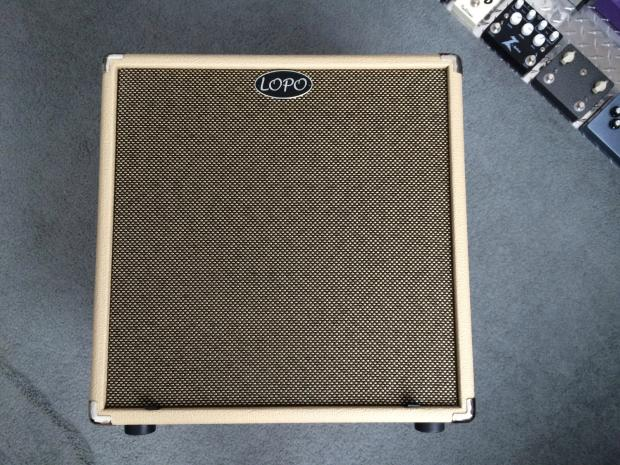 lopoline 1x15 guitar cabinet blonde with eminence legend 1518 reverb. Black Bedroom Furniture Sets. Home Design Ideas
