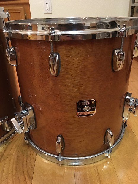 Gretsch renown 14 and 16 floor tom 2007 reverb for 16 floor tom