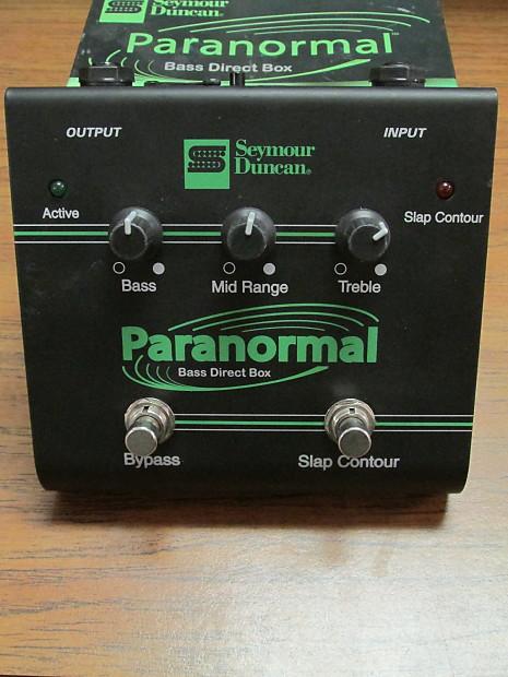seymour duncan sfx 06 paranormal bass direct box reverb. Black Bedroom Furniture Sets. Home Design Ideas