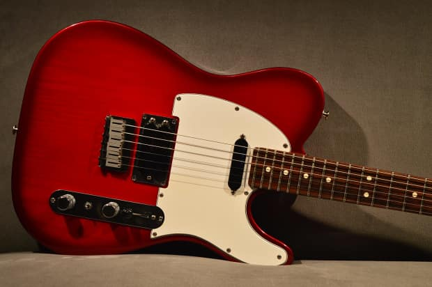 Greenwood Auto Sales >> 1994 Fender American Telecaster Plus Guitar Red Lace ...